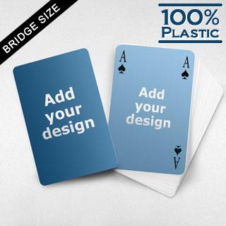 Plastic Bridge Size Classic Style Custom 2 Sides