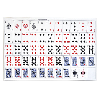 picture regarding Printable Playing Card Sheets known as Uncut Sheets of Taking part in Playing cards