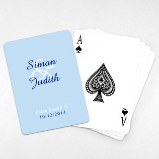 Wedding Invitation Classic Playing Cards