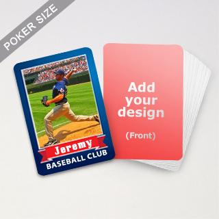 Print Baseball Trading Cards