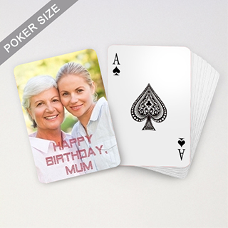 Personalized Birthday Playing Cards View