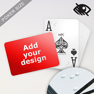 Custom Embossed Braille Playing Cards