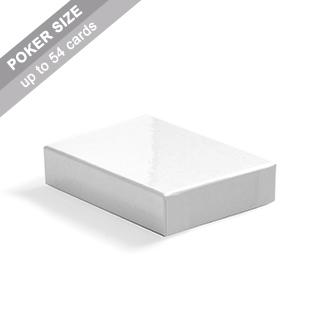 Plain Rigid Box for Poker Cards