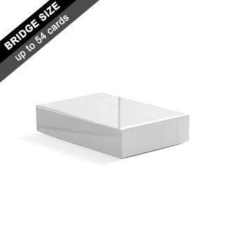 Plain Rigid Box for Bridge Cards