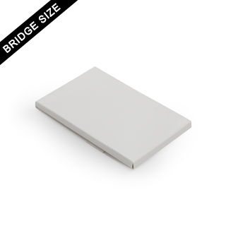 Plain sleeve box for 18 bridge size cards
