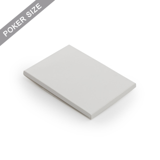 Plain sleeve box for 18 poker playing cards