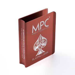 Custom Red Aluminum Card Clip
