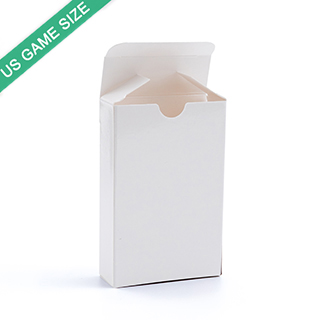 Tuck box for US game size playing cards