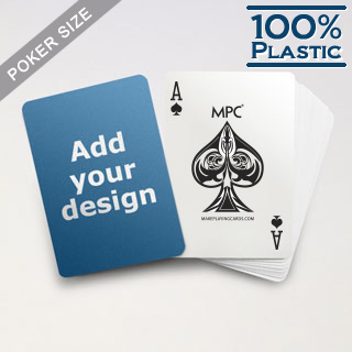 custom plastic poker cards by mpc - Custom Plastic Cards