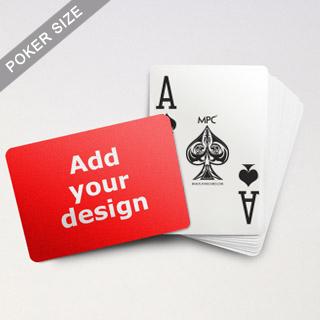 Custom Jumbo Index MPC Playing Cards (Landscape)
