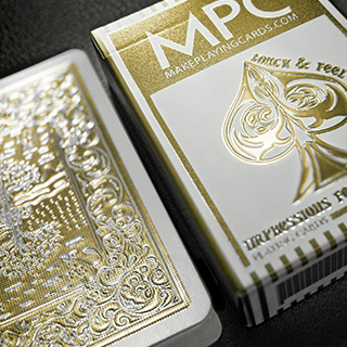 Impressions Foil Gold Back Playing Cards