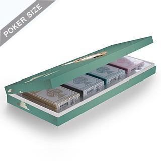 Custom Four Deck Presentation Box