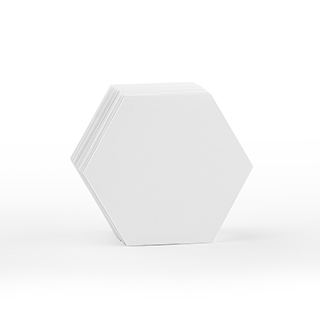 70 Blank Small Hex Cards (2.2