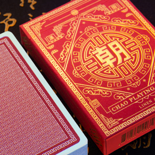 CHAO Vermilion Red Ed. Playing Cards