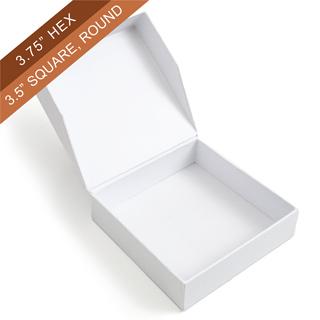 Plain Easy-Flip one-piece Box (Square)