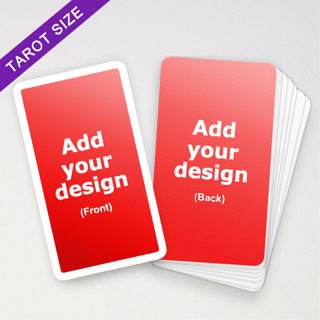 Personalized White Border Tarot Cards