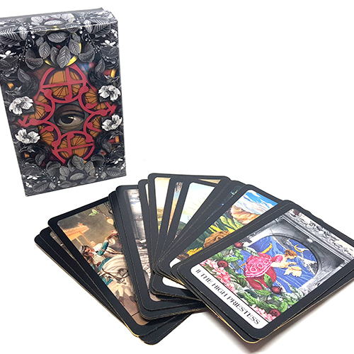 The Vintage Oracle Tarot Cards