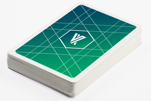 Custom White Border Back MPC Playing Cards