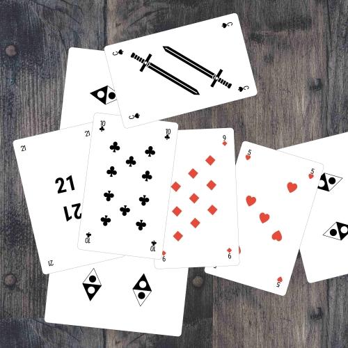 Custom Bridge Size Cards