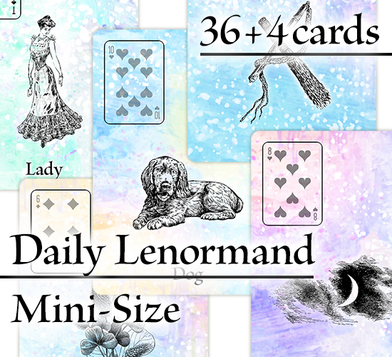 Mini Card Series - Custom Cards (Blank Cards)