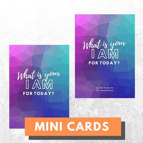 Mini Card Series - Custom Cards (Blank Cards)
