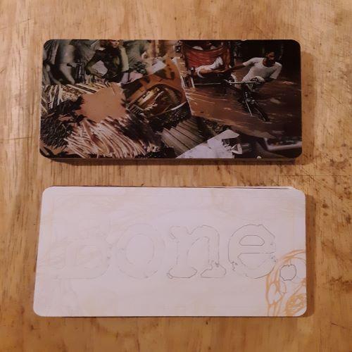 Big Creator - Blank Game Card