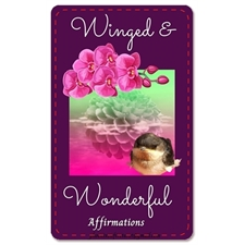 Winged and Wonderful Affirmation