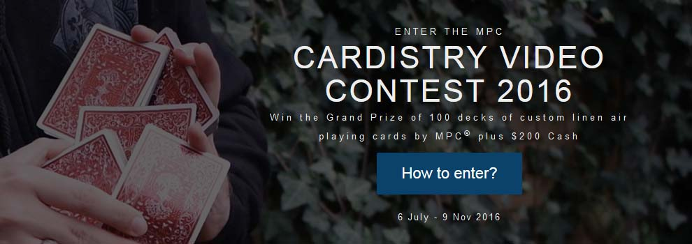 Cardistry video contest 2016