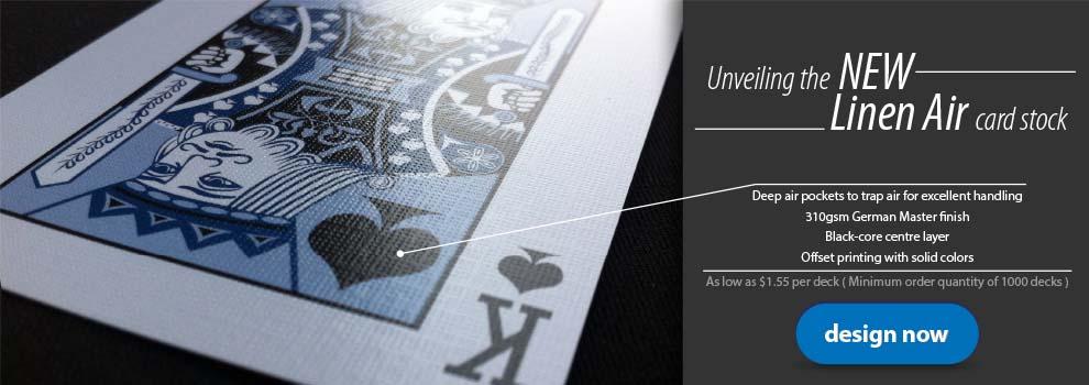 linen air cards