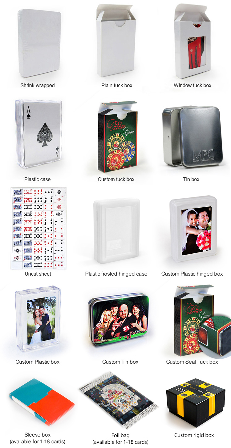 Card Deck With Guidebook By: Custom Game Cards