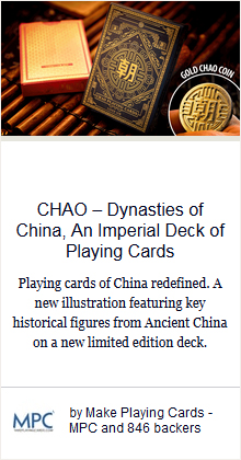 CHAO – Dynasties of China, An Imperial Deck of Playing Cards