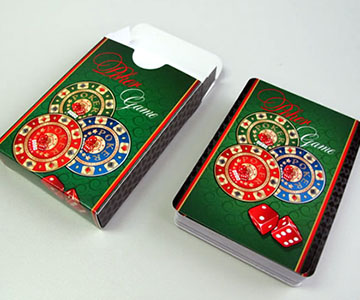 casino playing cards custom deck