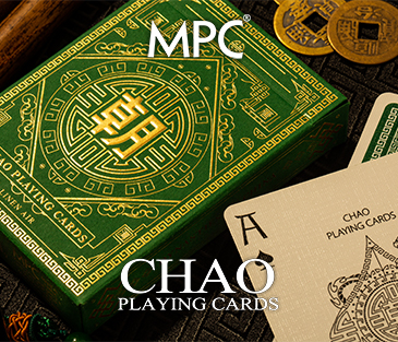 Chao Playing Cards (Jade Green Ed.)