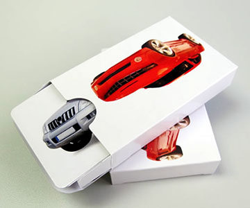 photo playing card box